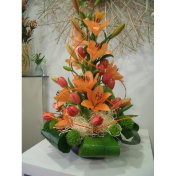 Centro de flor natural nº5...