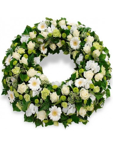 Corona de flor natural cod 6